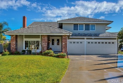 Anaheim Hills CA Single Family Home For Sale: $1,119,990