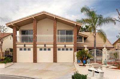 Anaheim Hills Single Family Home Active Under Contract: 5215 E Honeywood Lane