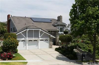 Fullerton Single Family Home For Sale: 2514 Camino Del Sol