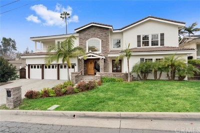 Fullerton Single Family Home For Sale: 1841 Skyline Way