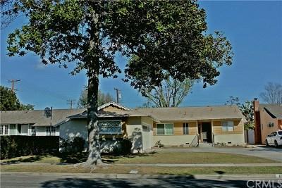 Anaheim Single Family Home For Sale: 1834 S Gail Lane