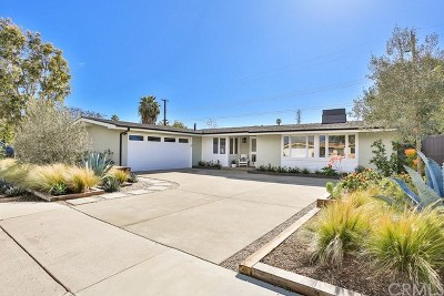 Costa Mesa Single Family Home For Sale: 337 Esther Street