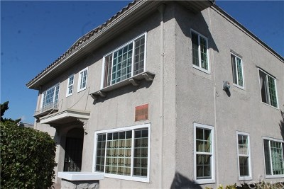 Long Beach Multi Family Home For Sale: 1517 E 7th Street