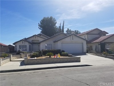 Moreno Valley Single Family Home For Sale: 26445 Willowdale Court