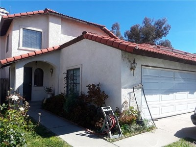 Perris Single Family Home For Sale: 1741 Glenview Drive