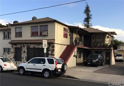 Norwalk Multi Family Home For Sale: 11934 Rosecrans Avenue