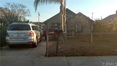 Single Family Home For Sale: 709 W Nevada Street