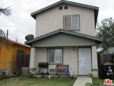 Los Angeles Single Family Home For Sale: 138 W 115th Street
