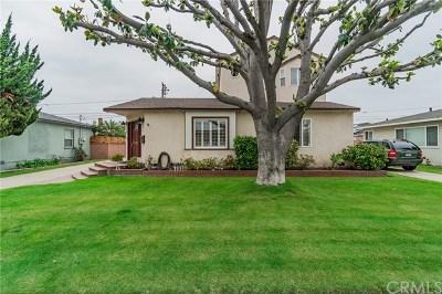 Long Beach Single Family Home For Sale: 5815 E Parapet Street