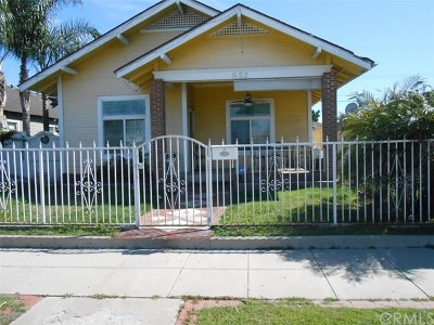 Anaheim Single Family Home For Sale: 852 N Harbor Boulevard