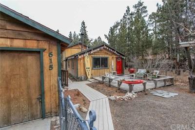 Big Bear Single Family Home For Sale: 615 Elysian Boulevard