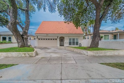 Torrance Single Family Home For Sale: 624 Madrid Avenue