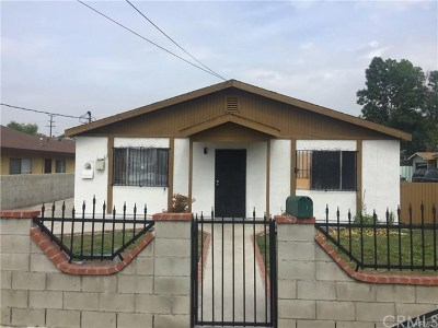 La Puente Single Family Home For Sale: 16135 Abbey Street
