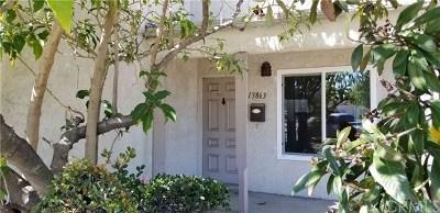 Garden Grove Single Family Home For Sale: 13863 Magnolia Street