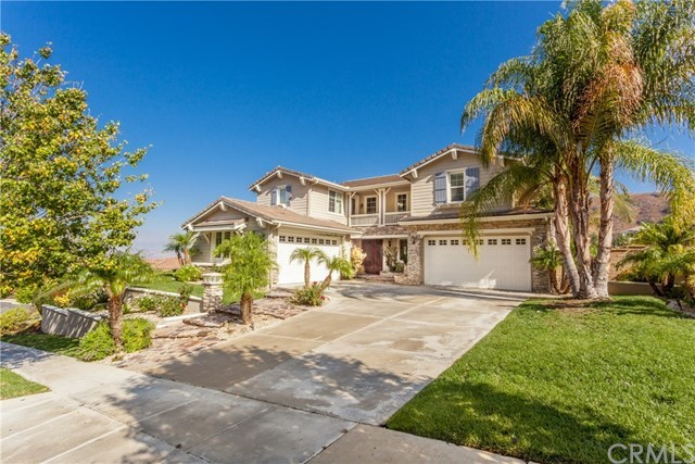 5 bed / 4 full, 1 partial baths Home in Corona for $1,075,000