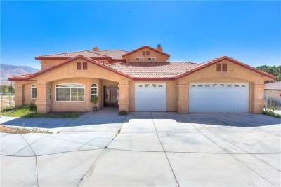 Hesperia Single Family Home For Sale: 7475 Calpella Avenue