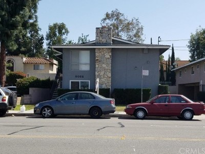Buena Park Multi Family Home For Sale: 8062 Whitaker Street