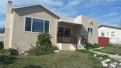 San Pedro Single Family Home For Sale: 1512 W 16th Street