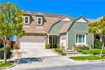 Ladera Ranch Single Family Home For Sale: 43 Flintridge Avenue