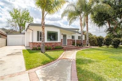 Whittier Single Family Home For Sale: 10418 Cliota Street