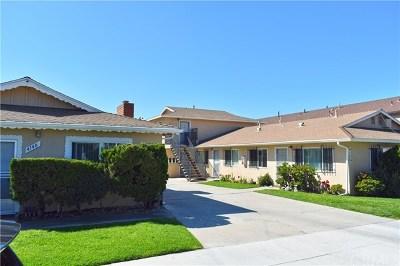 Long Beach Multi Family Home For Sale: 4134 E Fountain Street