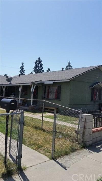 Santa Ana Multi Family Home For Sale: 1336 W Walnut Street