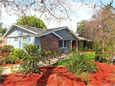 Fullerton Single Family Home For Sale: 1517 Longview Drive