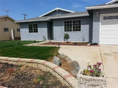 Corona Single Family Home For Sale: 1591 Lark Lane