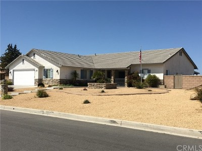 Hesperia Single Family Home For Sale: 13330 Paraiso Road