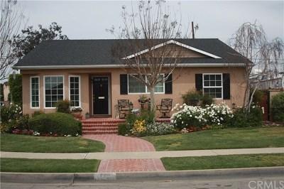 Long Beach Single Family Home For Sale: 7121 E Carita Street