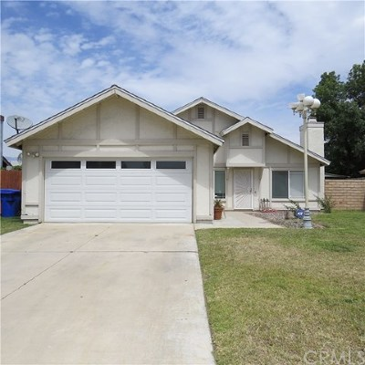 Jurupa Single Family Home For Sale: 3575 Hadley Drive