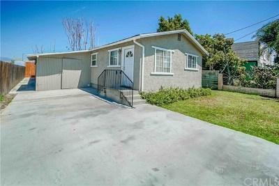 La Puente Single Family Home For Sale: 130 S 5th Avenue