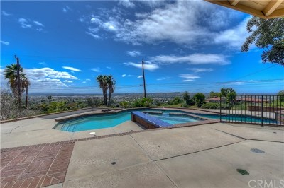 La Habra Heights Single Family Home For Sale: 1400 Mayapan Road