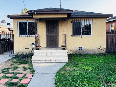 Compton Single Family Home For Sale: 612 W Cherry