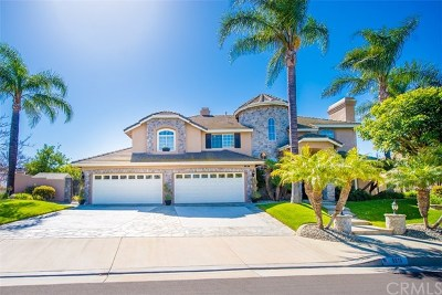 Yorba Linda Single Family Home For Sale: 5510 Camino De Bryant