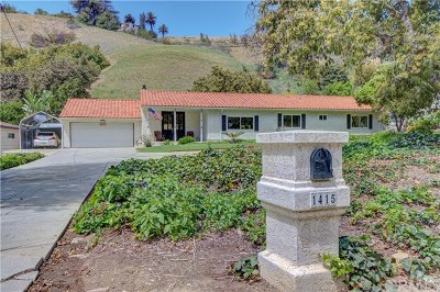 La Habra Heights Single Family Home For Sale: 1415 East Road