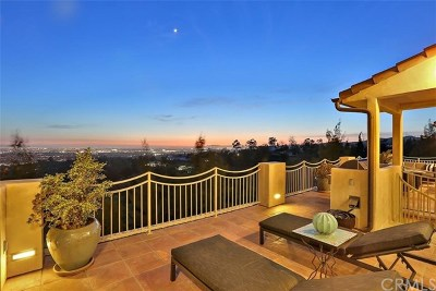 La Habra Heights Single Family Home For Sale: 1065 Picaacho Drive