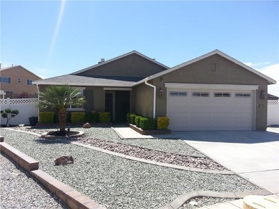 Victorville Single Family Home For Sale: 13666 Braidwood Court