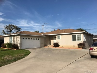 La Habra Single Family Home For Sale: 340 Oakland Drive
