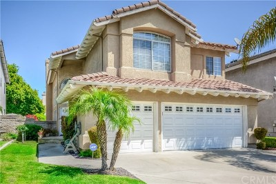 Chino Hills Single Family Home For Sale: 2184 Rancho Hills Drive