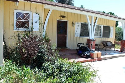 Fullerton Single Family Home For Sale: 1820 Skyline Drive