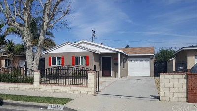 Carson Single Family Home For Sale: 23334 Orchard Avenue