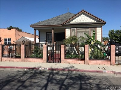 Los Angeles Single Family Home Active Under Contract: 10330 Croesus Avenue