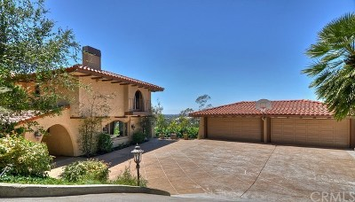 Anaheim, North Tustin, Orange, Santa Ana, Tustin, Villa Park Single Family Home For Sale: 11331 La Vereda Drive