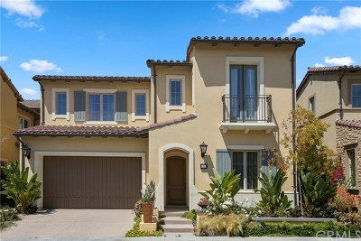 Irvine CA Single Family Home Active Under Contract: $2,078,000