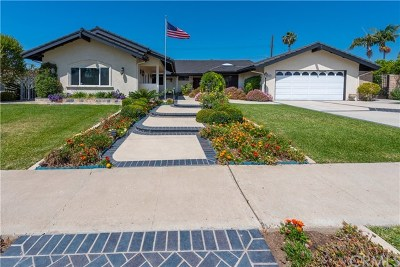 North Tustin Single Family Home For Sale: 14211 Clarissa Lane