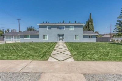 North Tustin Single Family Home For Sale: 1021 Ravencrest Road