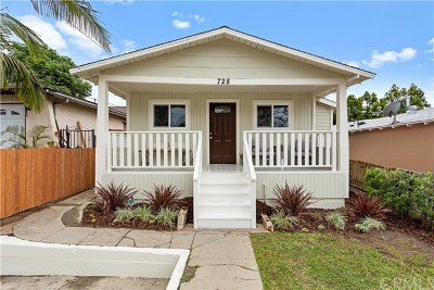 La Habra Single Family Home For Sale: 728 W 4th Avenue