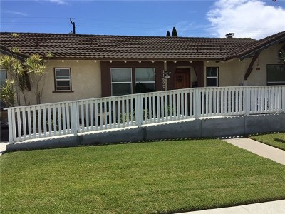 Garden Grove Single Family Home For Sale: 11602 Daniel Avenue
