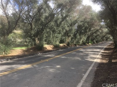 Modjeska Canyon, Silverado Canyon Residential Lots & Land For Sale: Modjeska Canyon Rd.